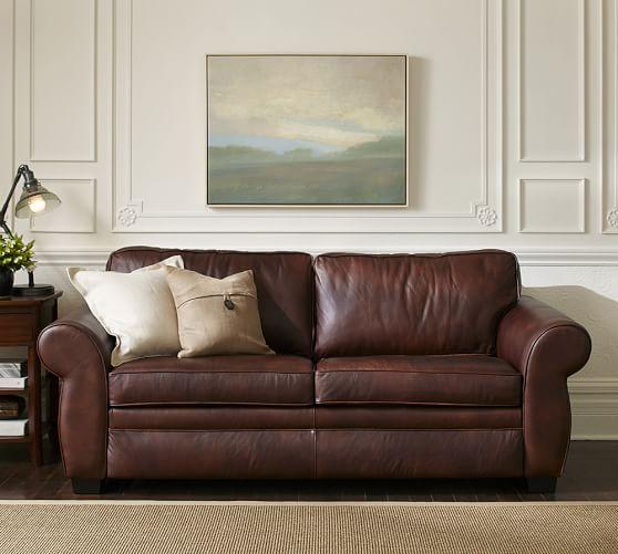 leather sleeper sofa start 360° product viewer TVXZXZM