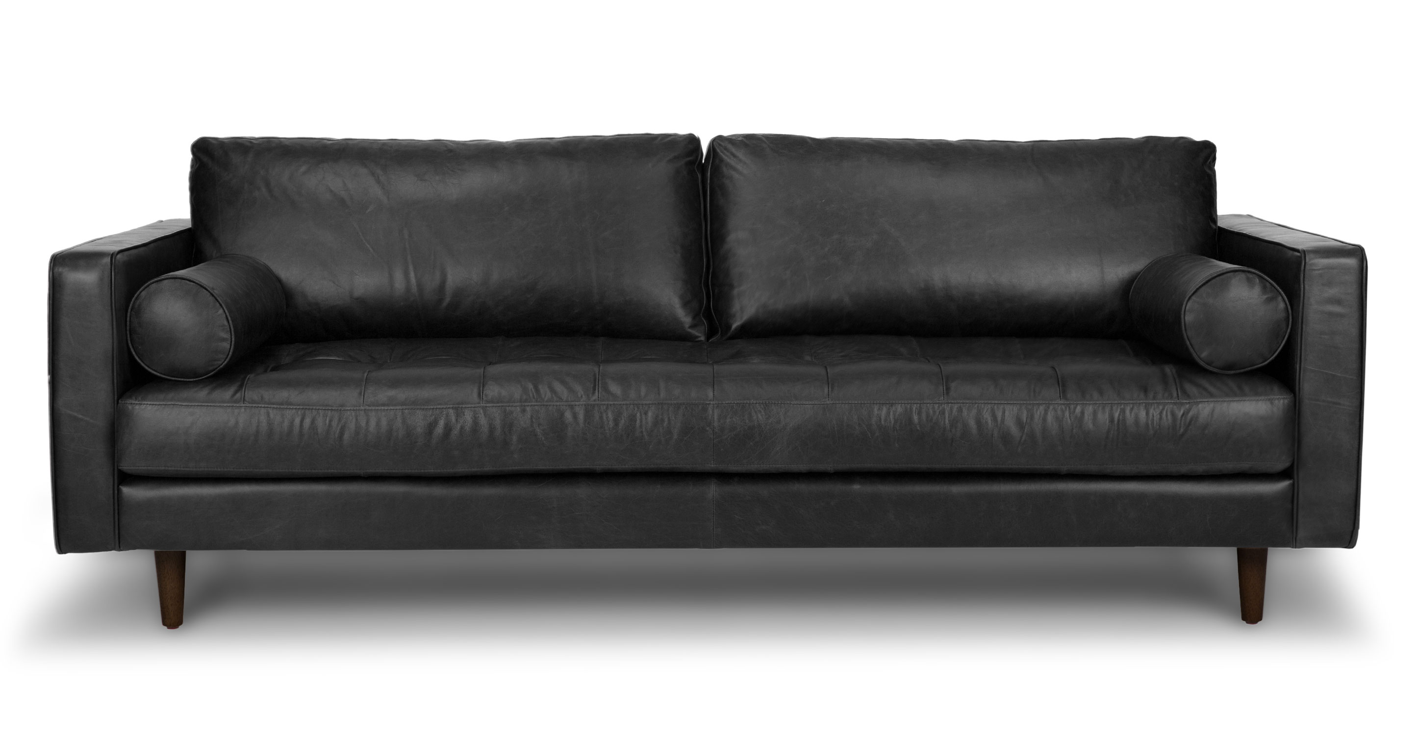 leather sofa sven charme chocolat sofa - sofas - article | modern, mid-century and MWFWGAU