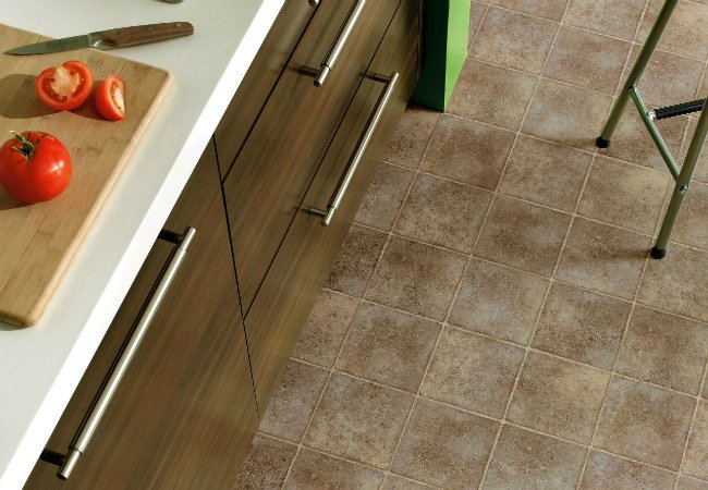 Style and beauty with linoleum floor