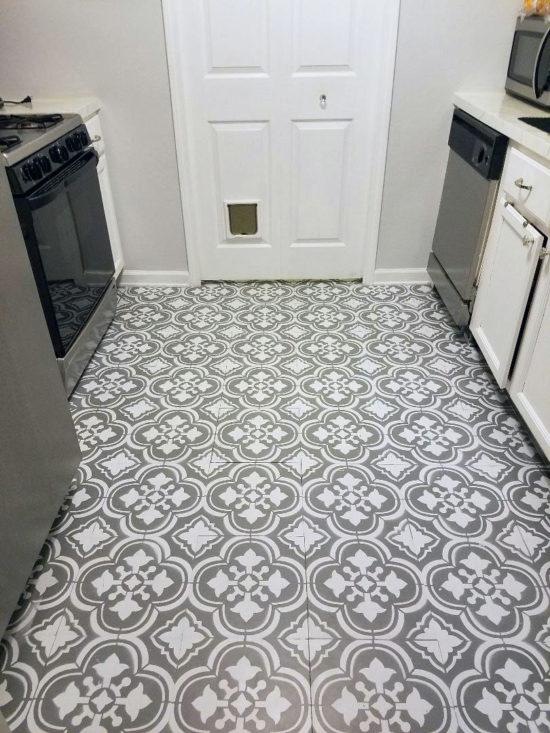 linoleum floor how to paint linoleum flooring EAIWQAV