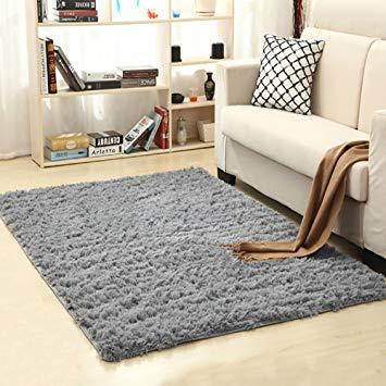 living room carpet amazon.com: lochas ultra soft indoor modern area rugs fluffy living room  carpets LKJTASB