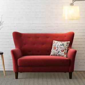 Love seat sofa frida loveseat (red) by urban ladder IFOQRAC