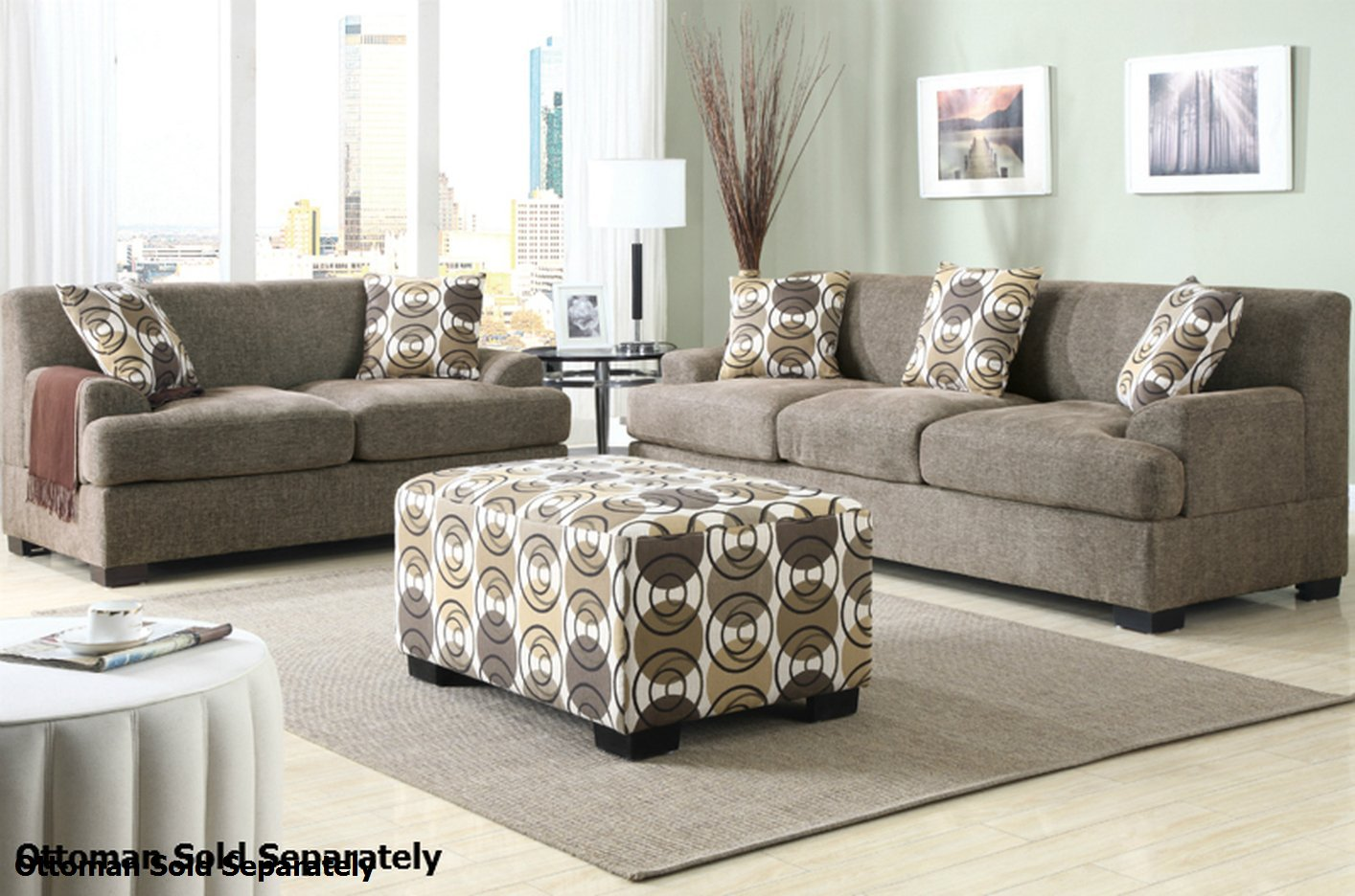 loveseat and sofa montreal beige fabric sofa and loveseat set UVVDJCG