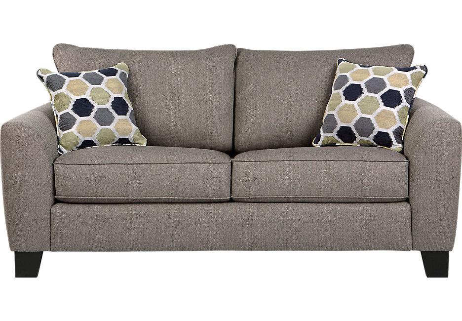 loveseat sofa bonita springs gray sleeper loveseat - sleeper loveseats (gray) TORLCWQ