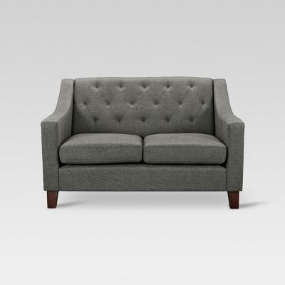 loveseat sofa felton tufted loveseat - thresholdu0026#153; VUDQWPR