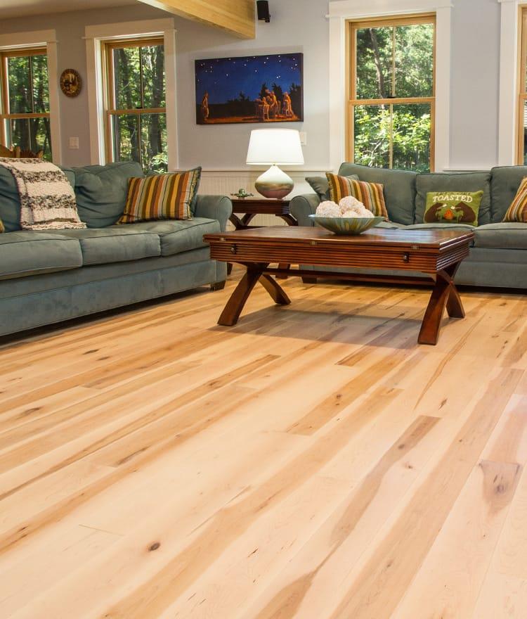 How to refinish maple floor?