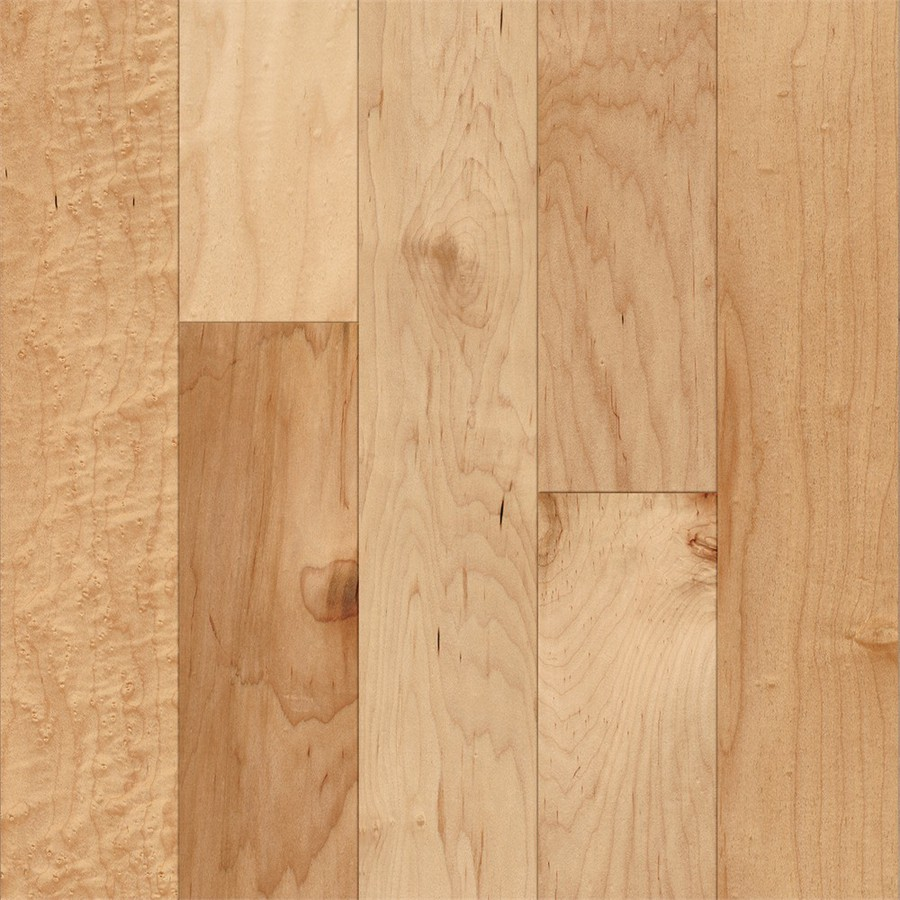 maple floor style selections 5-in country natural maple engineered hardwood flooring  (22-sq ft EXMZVME