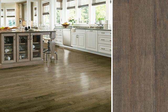 maple floors maple hardwood flooring in a kitchen - apm3408 PMCMDXK