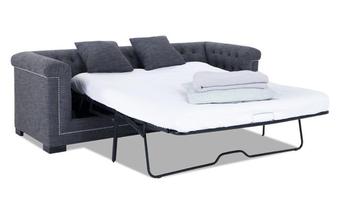 melrose queen bob-o-pedic gel memory foam sleeper sofa FFVOKLC