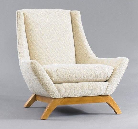 modern armchair jensen chair - modern - armchairs - dwellstudio CKFJEZS
