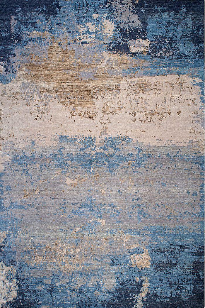 Modern carpets tendance: nouvelles patines tapis en laine et soie. grunge (thibault van  renne) CIIHANB