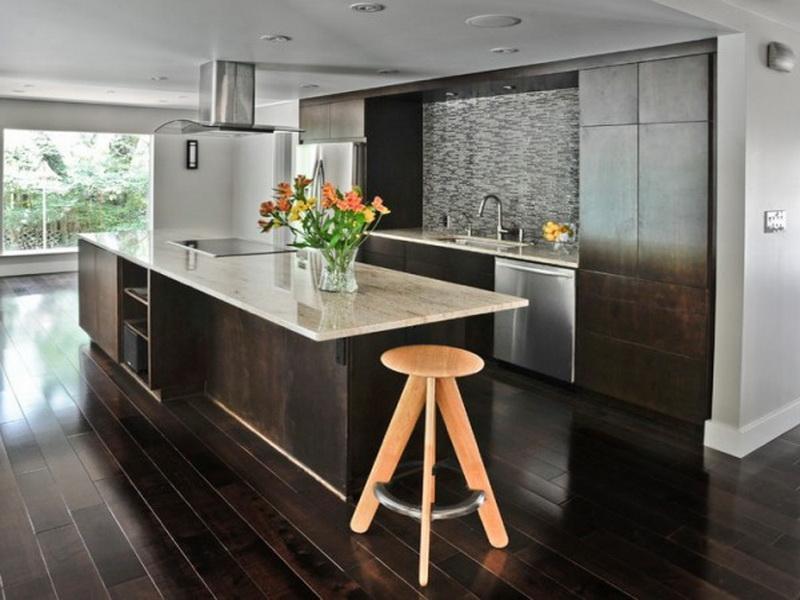 modern dark wood floors awesome dark kitchen cabinets with dark hardwood floors BVFKLEJ
