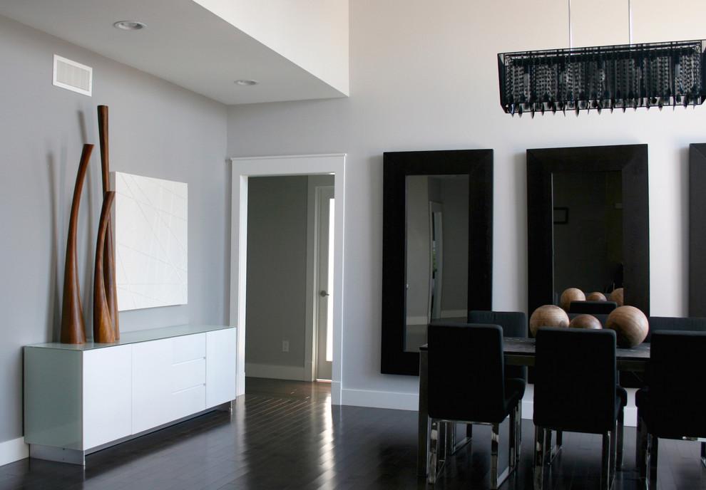 modern dark wood floors dark hardwood floors dining room contemporary with none. image by: eanf IBZHSYZ
