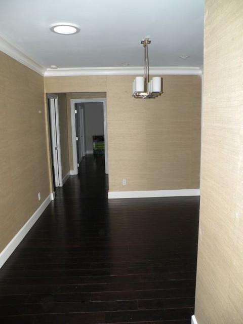 modern dark wood floors dark wood floors modern-family-room BBXWSKG