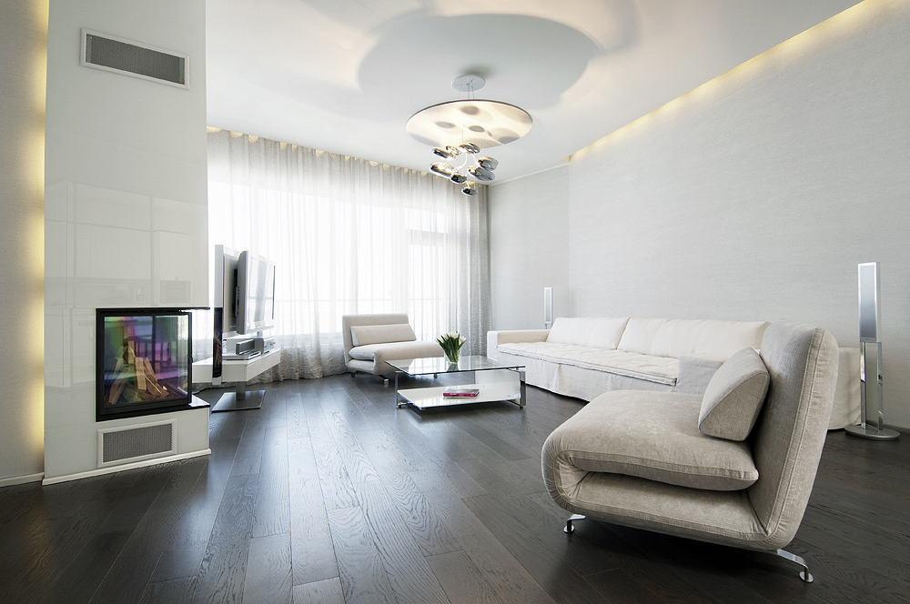 How to style your interiors with dark wood floors?