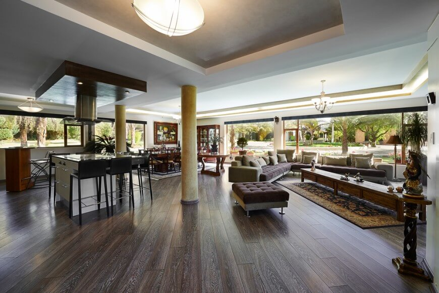 modern dark wood floors while many dark wood floors tend to have little variation in color, these TCUEUZA