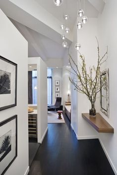 modern dark wood floors white cabinets with dark hardwood floors. see more. garage apartment  interiors   BBYKKUH