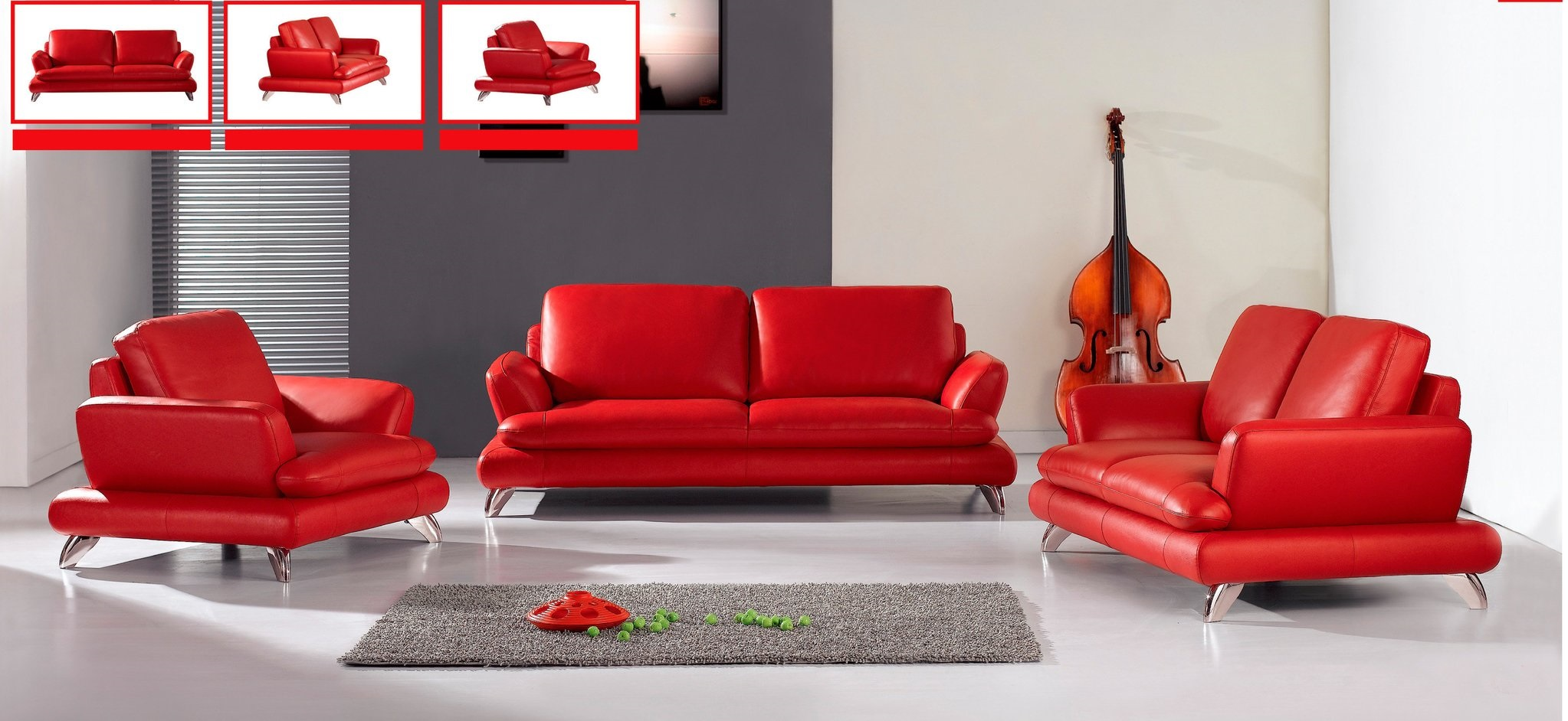 modern red couch furniture: the truth about red modern sofa sofas empire eurway furniture  from NNETZNS