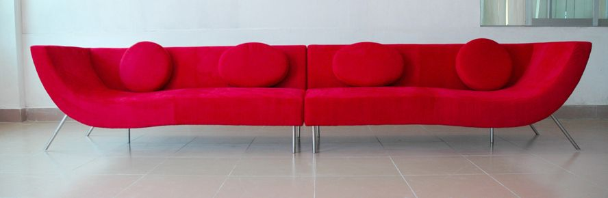 modern red couch home design: modern red sofa XIDOEJN