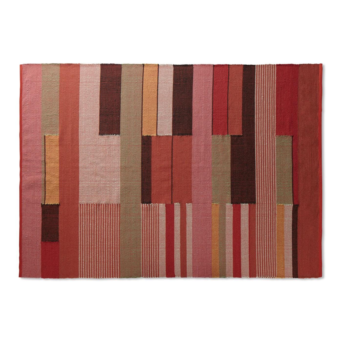 modern rugs charlie 6u0027 x 9u0027 colorful rug - modern area rugs   blu dot CHKVEJH