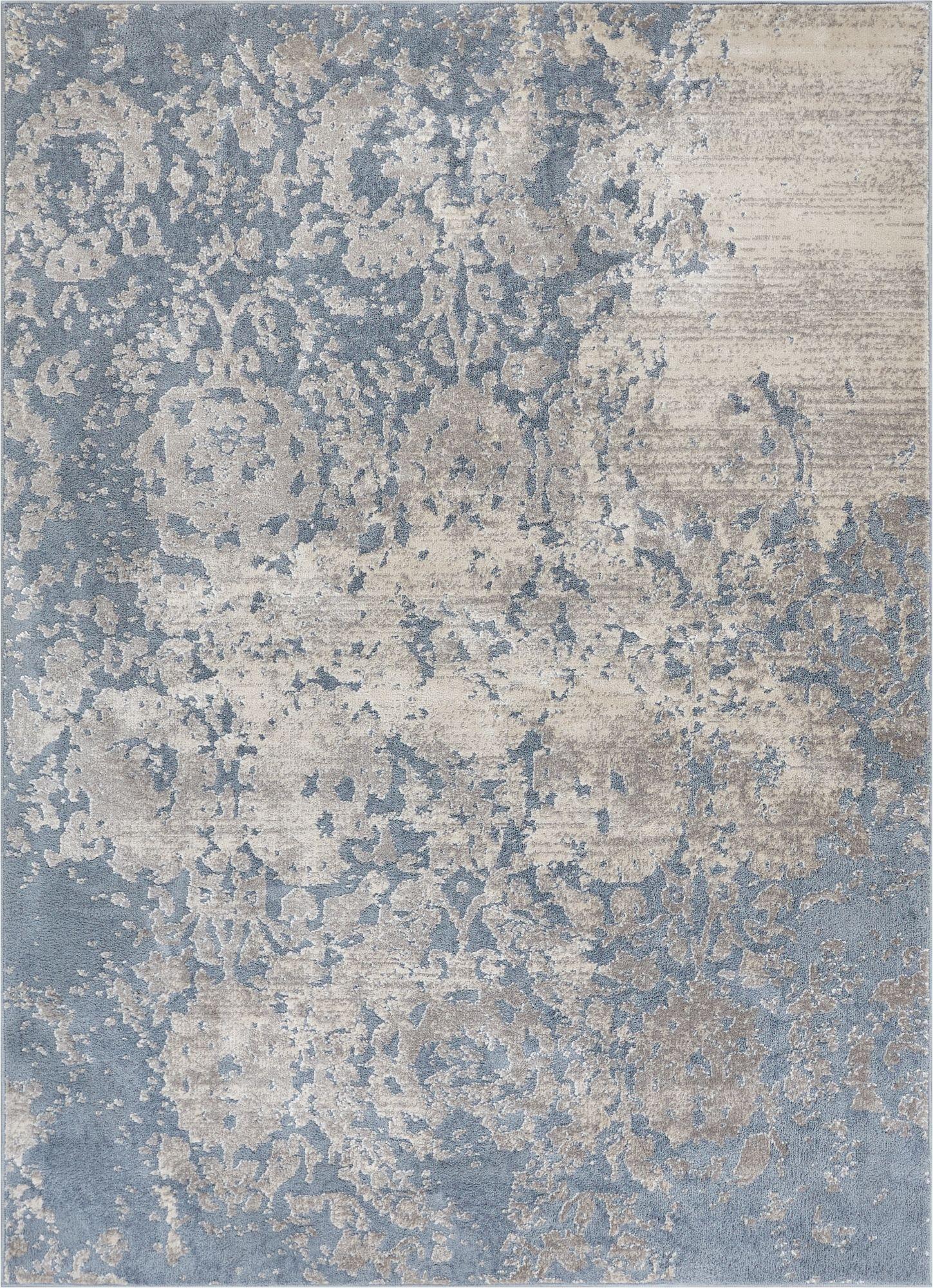 modern rugs ora blue modern rug DAFQINA