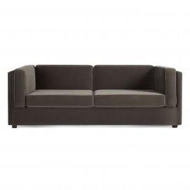 modern sofas bank mink velvet 80 PQSFLGY