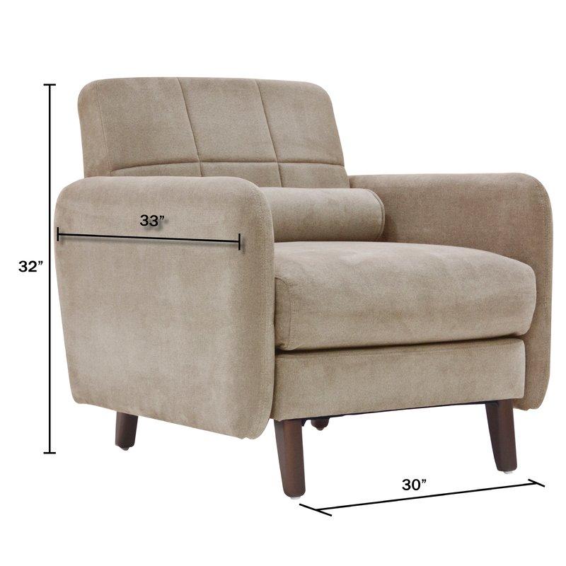 natalie mid-century modern armchair MUITQBC