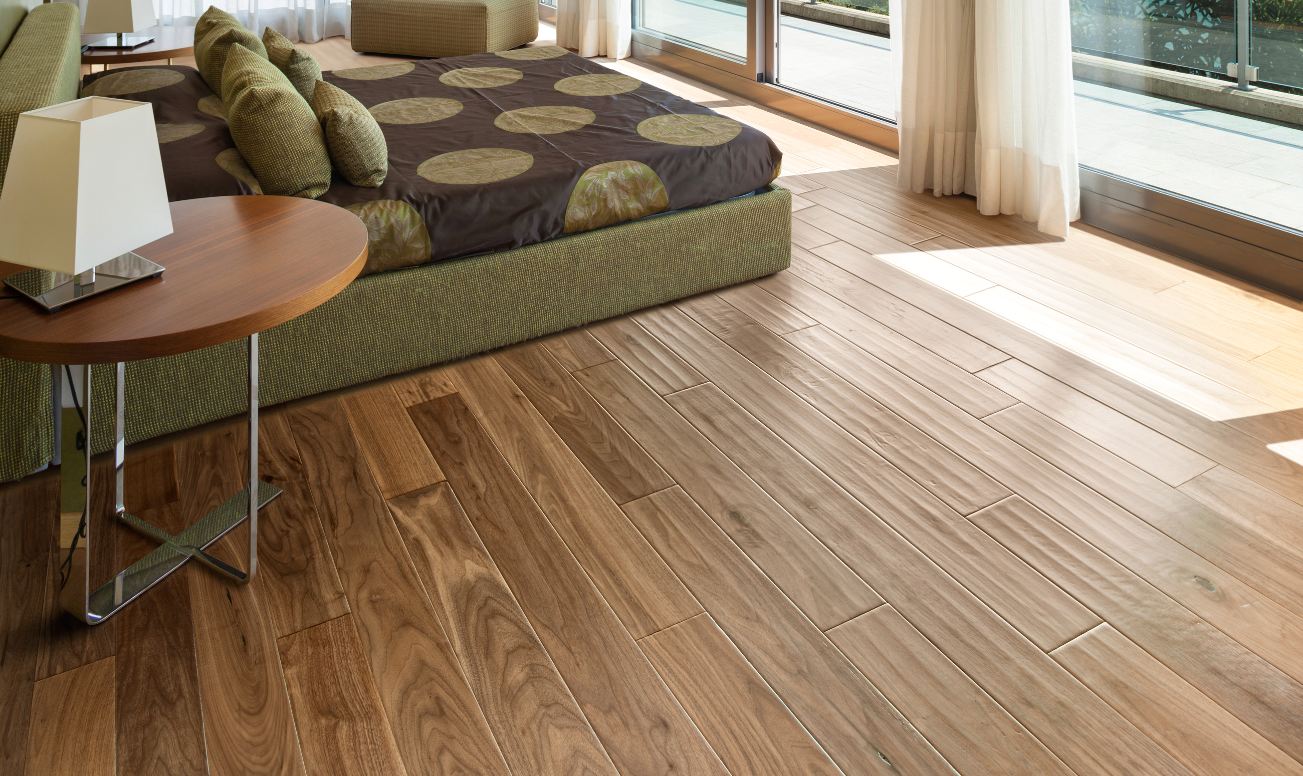 Synthetic vs. natural flooring- what is better?
