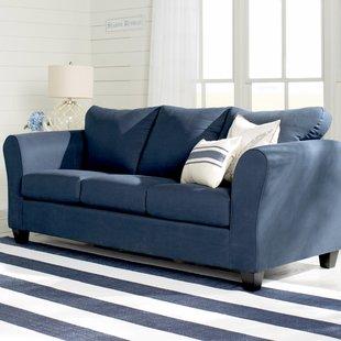 navy blue sofa | wayfair DJBECFF