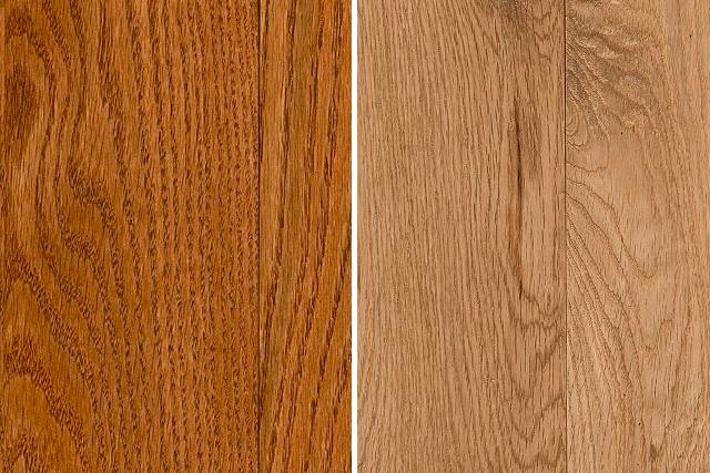 oak hardwood flooring red oak and white oak comparison PJIHXZT