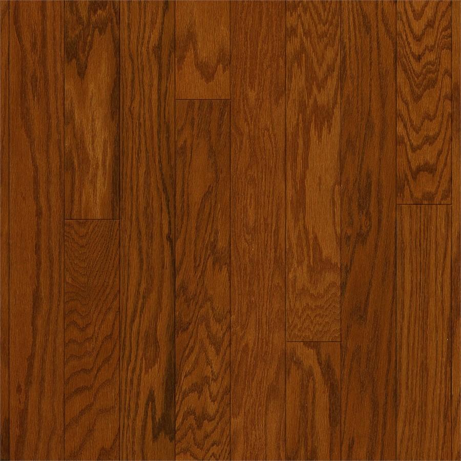 oak hardwood flooring style selections 3-in gunstock oak engineered hardwood flooring (22-sq ft) JJCYZOW