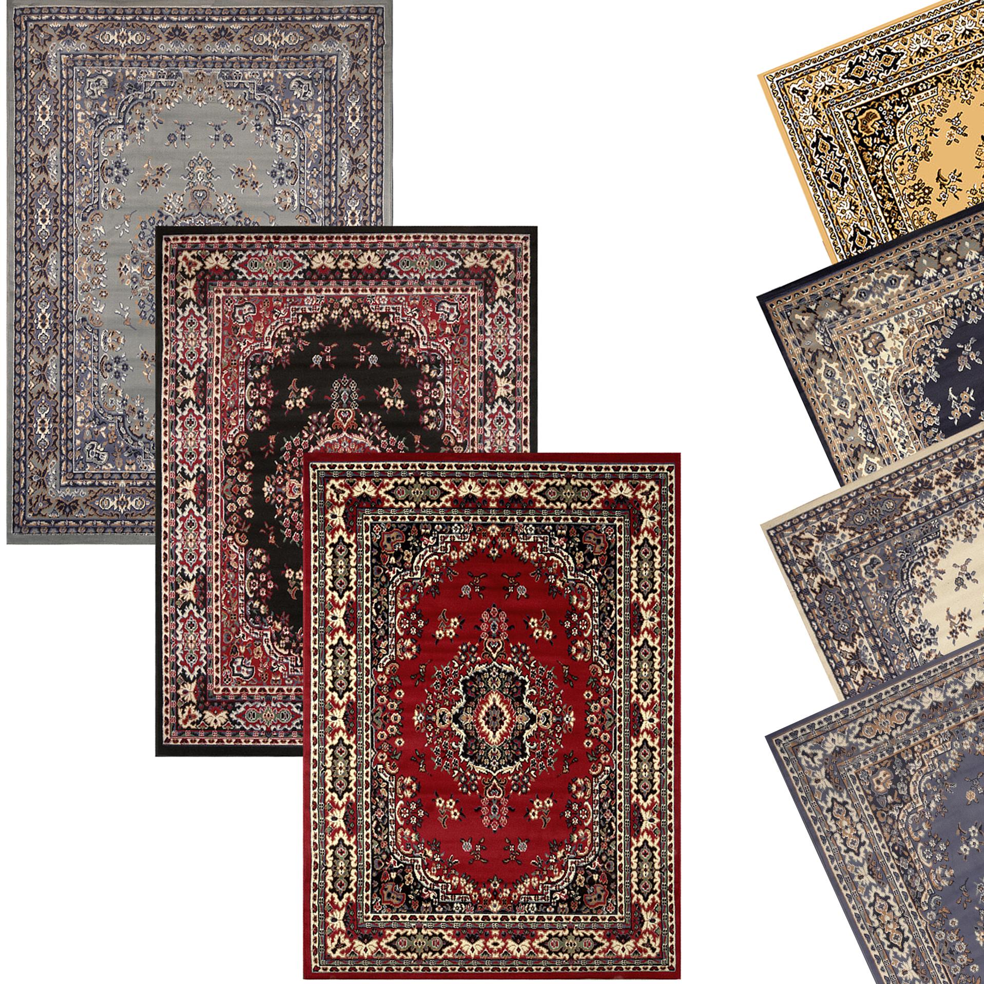 oriental rugs online traditional oriental medallion area rug persian style carpet runner mat  allsizes VRBSATG