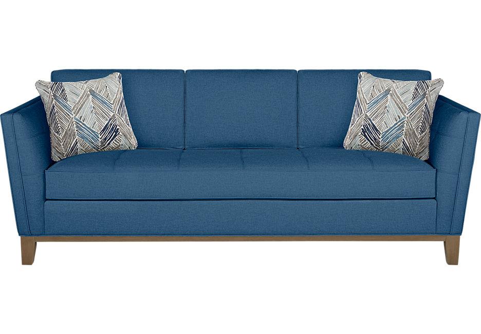 park boulevard blue sofa QURAENX