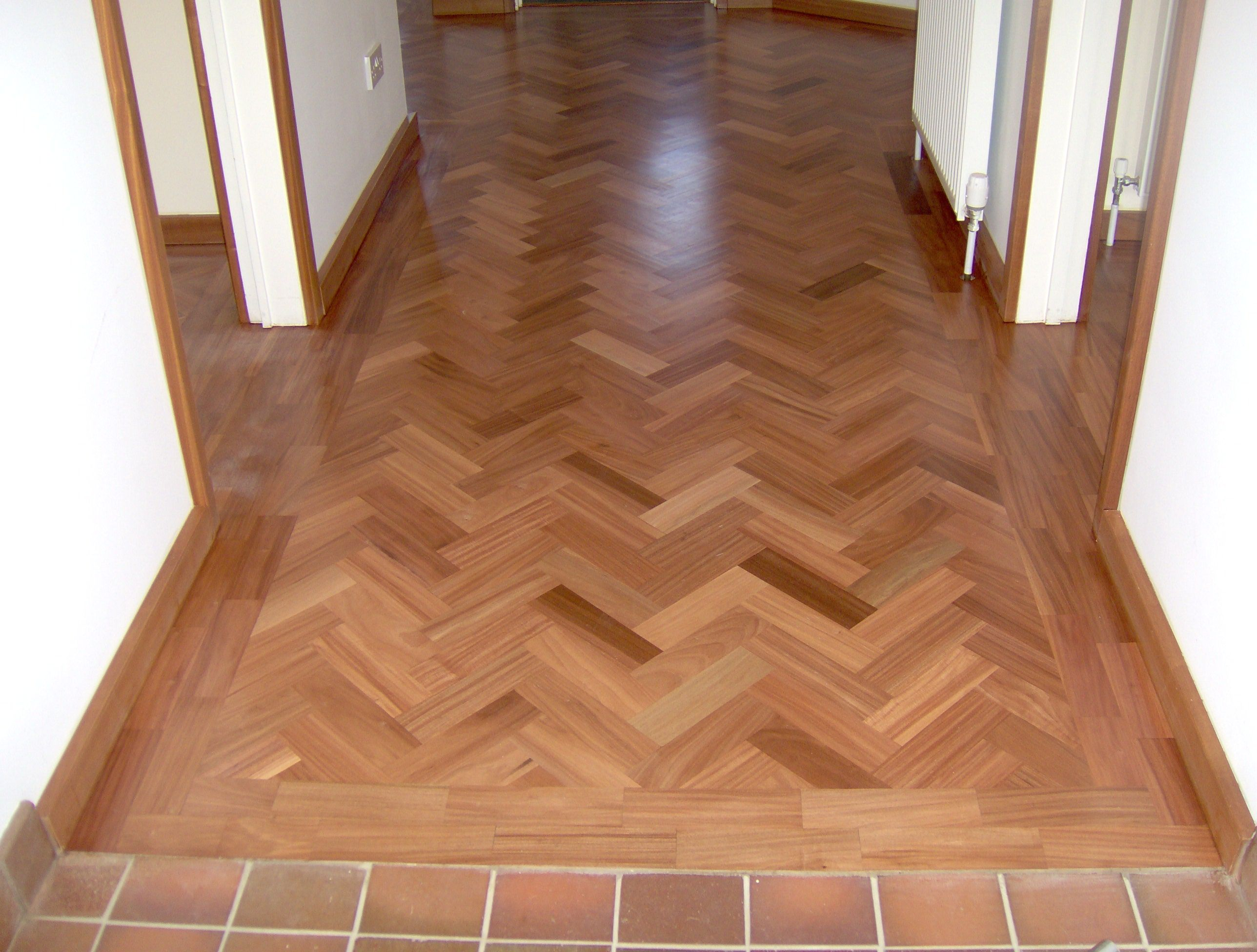 parkay flooring gorgeous reformed home with parkay floor: remarkable white wall and parkay  floor ZUKJYRM