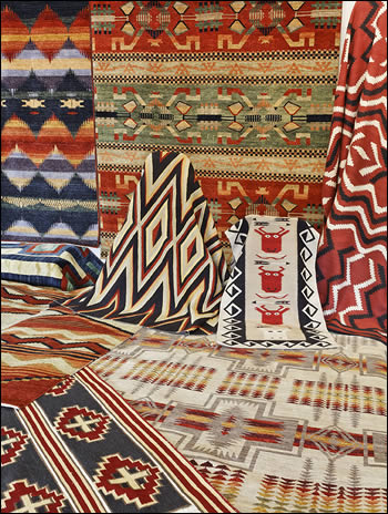 pendleton southwest rugs, trade blanket design rugs, navajo reproduction  textiles, navajo reproduction IBQWCSE
