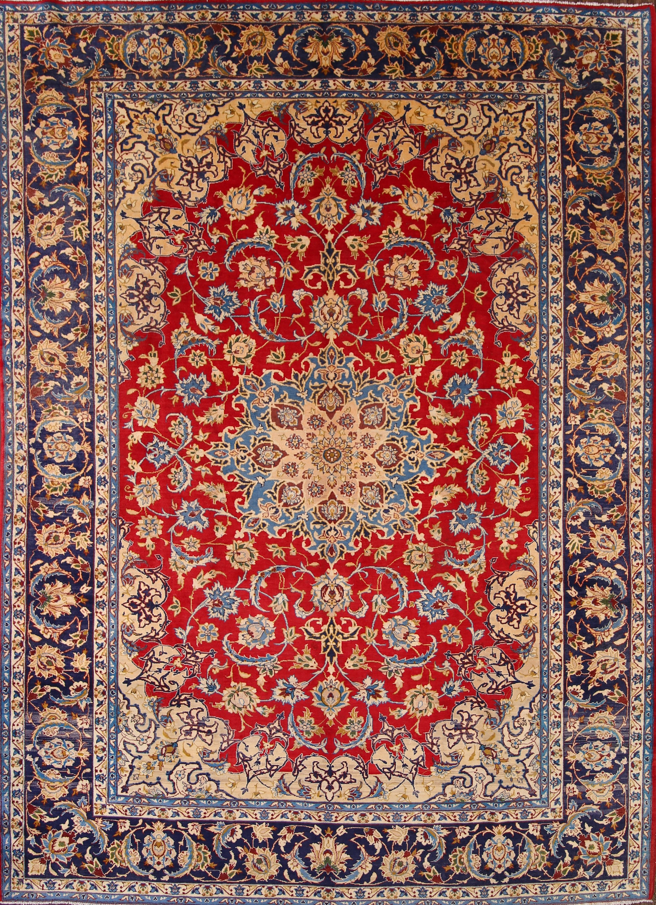 Persian area rugs 10x13 isfahan persian area rug TXTQRIF