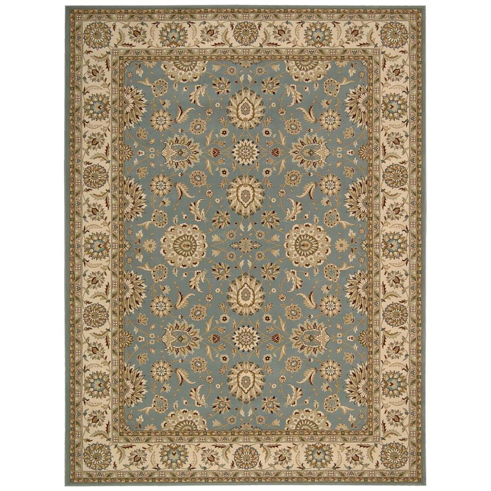 Persian area rugs nourison persian crown suret blue 9 ft. x 13 ft. area rug WIDQXXO