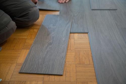 plastic laminate flooring AOYOCXD