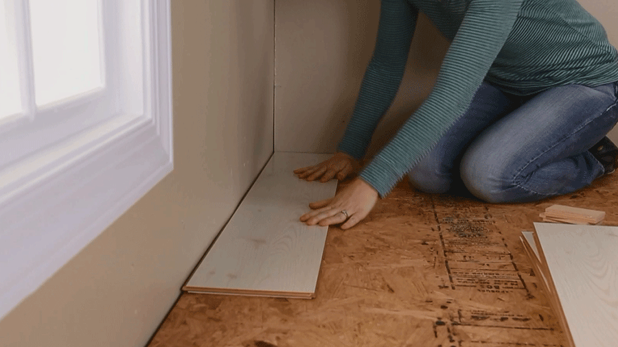 plastic laminate flooring how to install laminate flooring | better homes u0026 gardens PVLTWGR