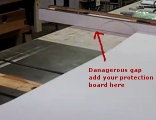 Plastic laminate sheets cutting formica sheets on a table saw PZGGLIO