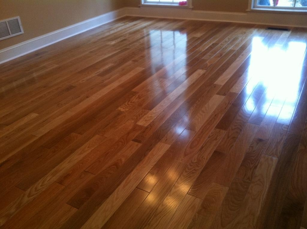 Install prefinished hardwood flooring to add aesthetic details to your home
