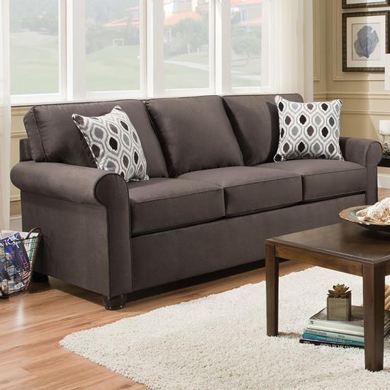 queen sleeper sofa picture of simmons upholstery 1530-queen-sleeper-sofa-smoke UDXYRJI