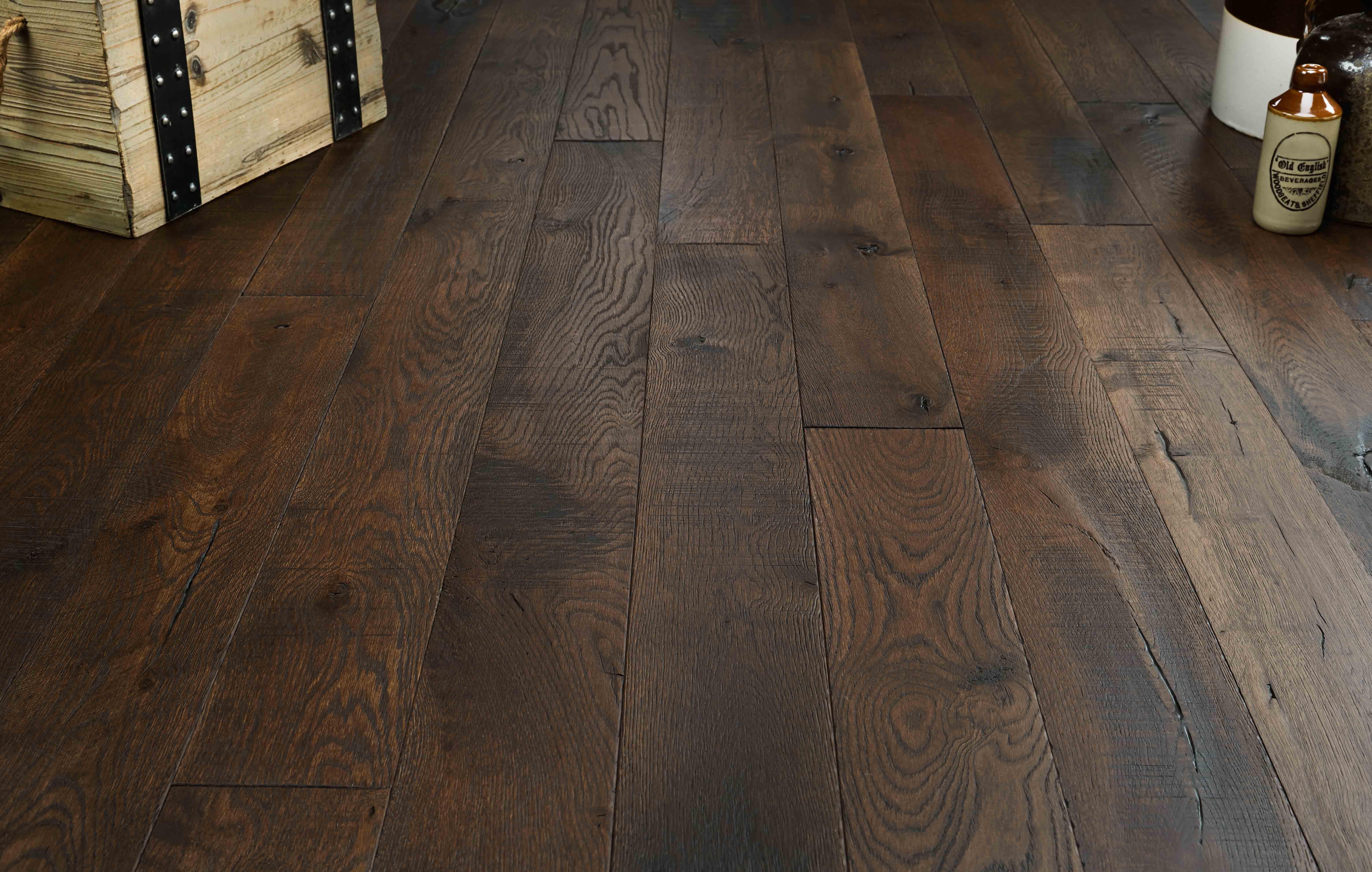 real wood floors coffer white oak DEKXJPB