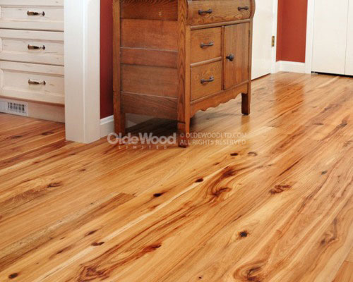reclaimed wood flooring antique hickory ZFEKXRV