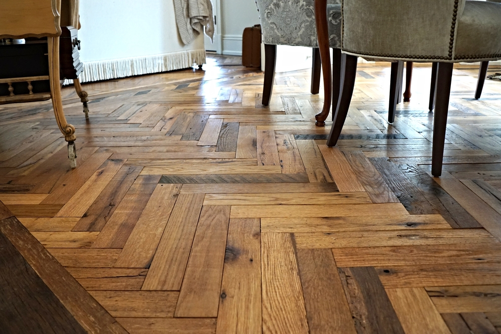 Advantages to using reclaimed wood flooring