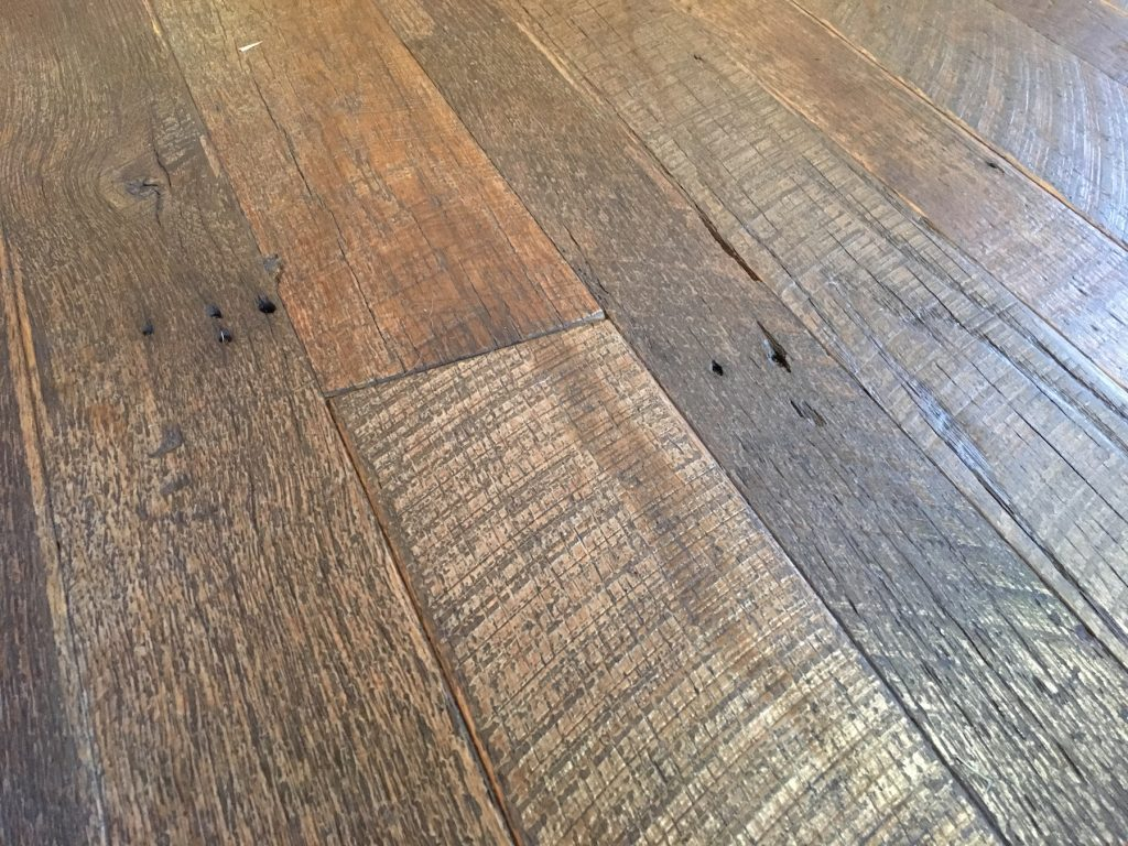 reclaimed wood flooring thickness ... MULMKDS