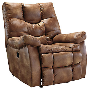 recliners chairs darshmore power recliner, almond, ... UXPNEST