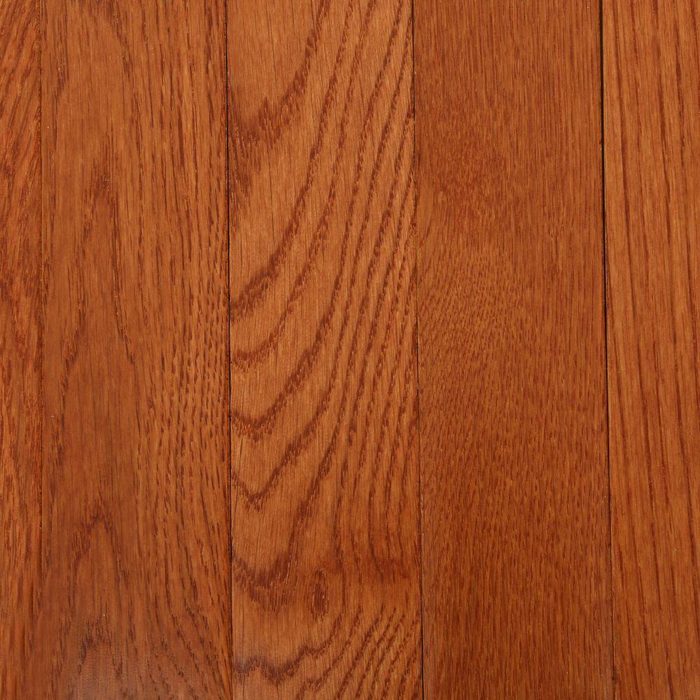 Red oak hardwood flooring bruce american originals copper dark red oak 3/4 in. t x 2- JFHNTBY