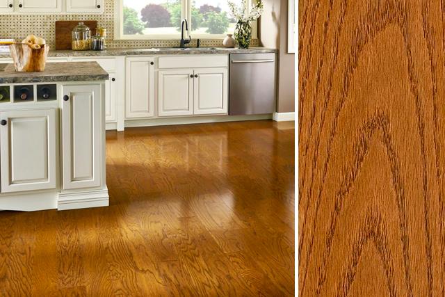 Red oak hardwood flooring red oak flooring in the kitchen - prime harvest oak solid - butterscotch GAHLSYI