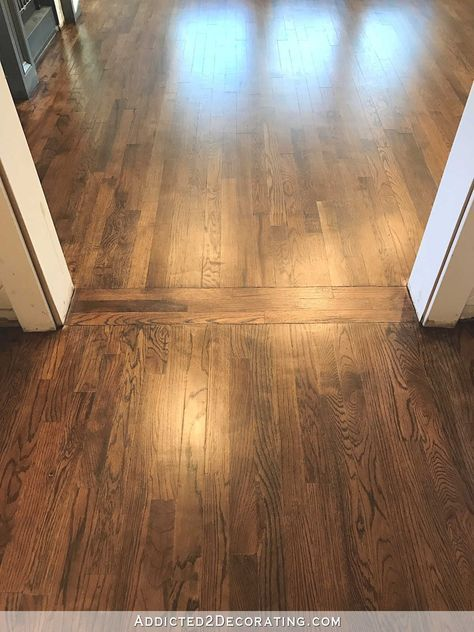 Red oak hardwood flooring red oak hardwood floors refinished with minwax 50/50 mix of AQFQJJU
